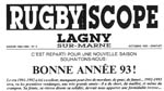 Rugbyscope n°2 - octobre 1992